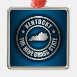 """Kentucky Steel (Blue)"" Ornament"