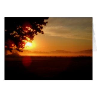 Kentucky Sunrise Card