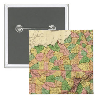 Kentucky, Tennessee and part of Illinois 15 Cm Square Badge