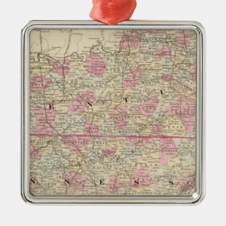 Kentucky, Tennessee Christmas Ornament