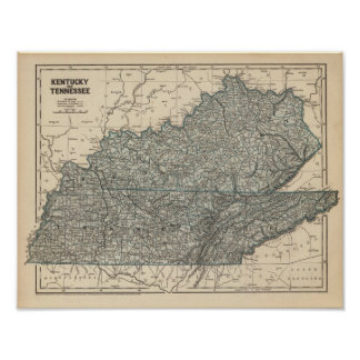 Kentucky, Tennessee Poster