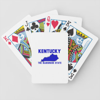 Kentucky The Bluegrass State Bicycle Card Deck