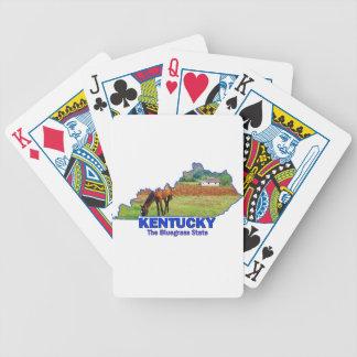 Kentucky The Bluegrass State Deck Of Cards