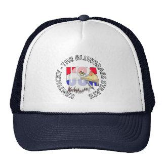 Kentucky The Bluegrass State USA Hat