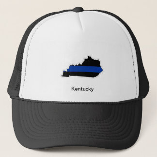 Kentucky Thin Blue Line Trucker Hat