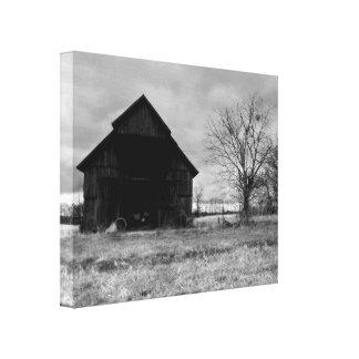 Kentucky Tobacco Barn 2 Canvas Print