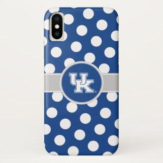 Kentucky | UK Polka Dot Pattern iPhone X Case
