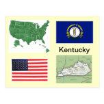 Kentucky USA Postcards