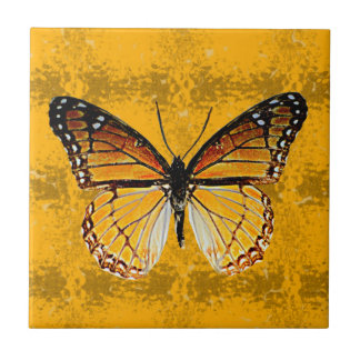 Kentucky Viceroy Butterfly Small Square Tile