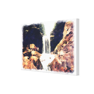 Kentucky Waterfall Gallery Wrapped Canvas
