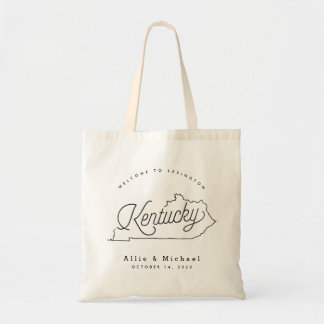 Kentucky Wedding Welcome Tote Bag