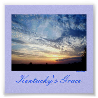 Kentucky's Grace Poster