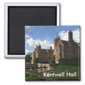 Kentwell Hall Square Magnet