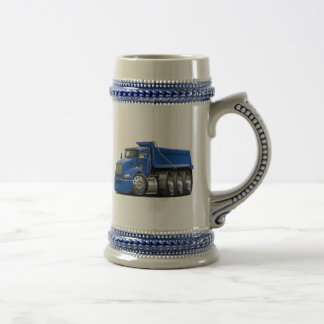 Kenworth T440 Blue Truck Beer Stein