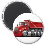 Kenworth T440 Red Truck Refrigerator Magnets