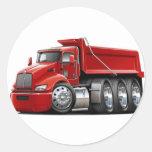 Kenworth T440 Red Truck Stickers