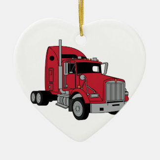 Kenworth Tractor Christmas Ornament