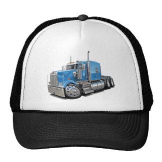 Kenworth w900 Lt Blue Truck Hats