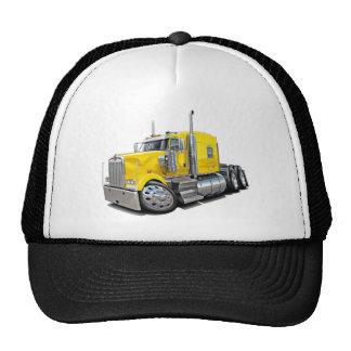 Kenworth w900 Yellow Truck Trucker Hat