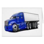 KenworthT700 Blue Truck Greeting Cards