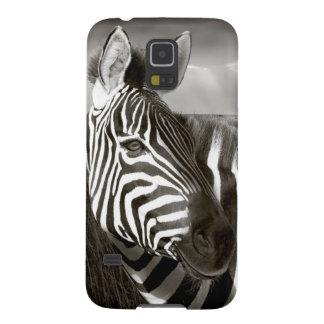 Kenya. Black & white of zebra and plain. Galaxy S5 Cover