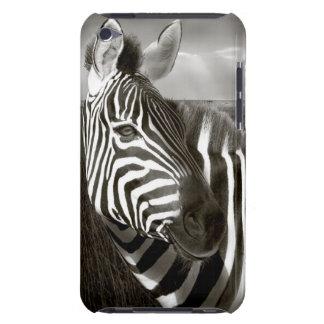 Kenya. Black & white of zebra and plain. iPod Touch Case-Mate Case