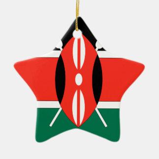 Kenya Christmas Ornament