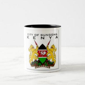 KENYA (CITIES) Two-Tone COFFEE MUG
