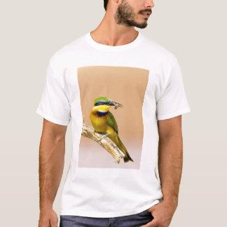Kenya. Close-up of little bee-eater bird on limb T-Shirt