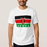 kenya country flag symbol name text shirts