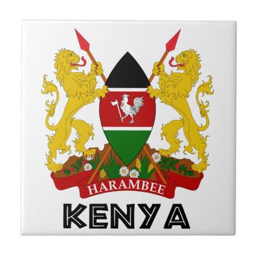 KENYA - emblem / flag / coat of arms / symbol Ceramic ...