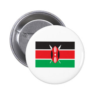 Kenya Flag 6 Cm Round Badge