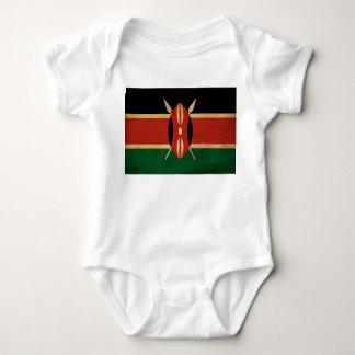 Kenya Flag Baby Bodysuit