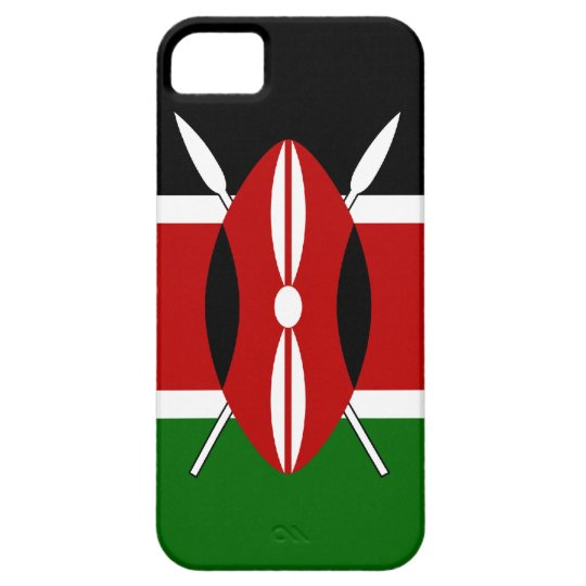 Kenya Flag Barely There iPhone 5 Case