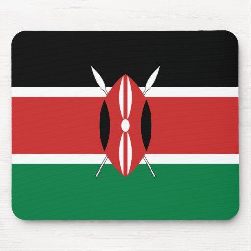 Kenya Flag Mousepad