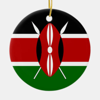 Kenya Flag Ornament