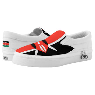 Kenya Flag -.png Slip-On Shoes