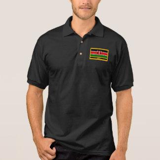 Kenya Flag Polo Shirt