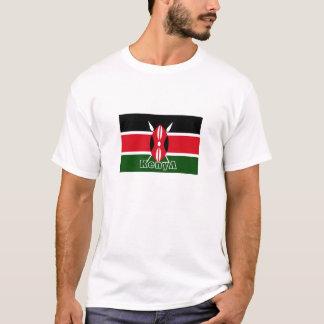 Kenya flag souvenir tshirt