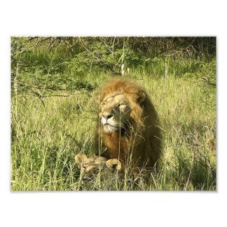 Kenya King & Queen Photo Art