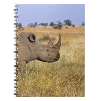 Kenya: Lewa Wildlife Conservancy, white Spiral Notebook