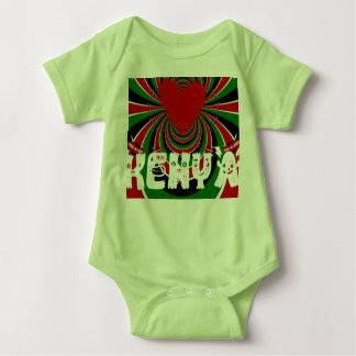 Kenya Lovely heart Clothing Kids Baby Bodysuits