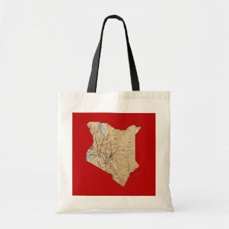 Kenya Map Bag