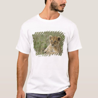 Kenya, Masai Mara Game Reserve. African Lion T-Shirt