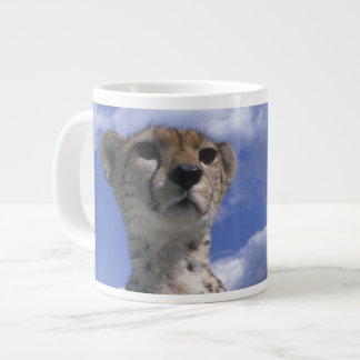 Kenya, Masai Mara Game Reserve, Close-up Large Coffee Mug