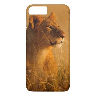 Kenya: Masai Mara Game Reserve, head of female iPhone 8 Plus/7 Plus Case