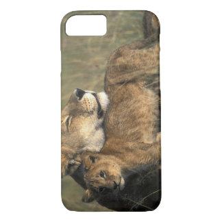 Kenya, Masai Mara Game Reserve, Lioness iPhone 8/7 Case