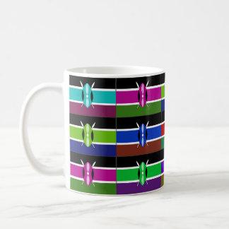 Kenya Multihue Flags Mug