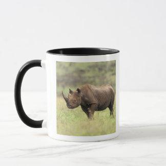Kenya, Nairobi National Park. Black Rhinoceros Mug