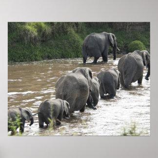 Kenya No Water No Life Mara River Expedition 2 Print